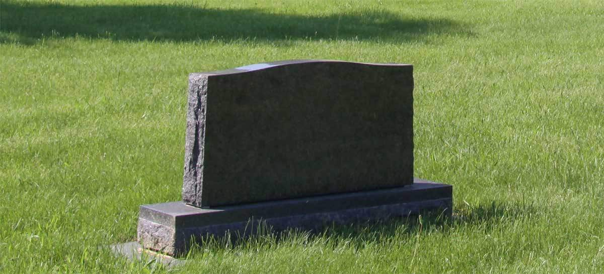 New cemetery monuments
